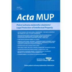 Acta MUP č. 1, 2016