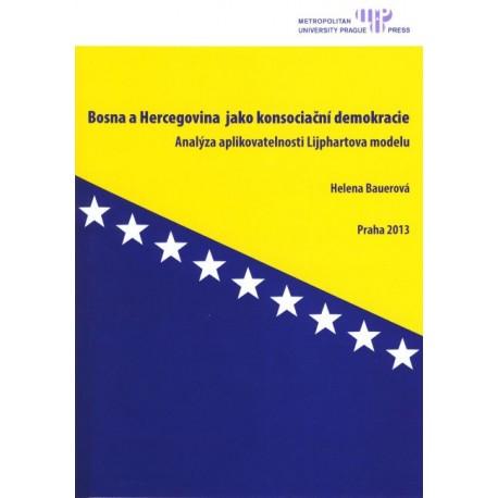 Bosna a Hercegovina jako konsociační demokracie